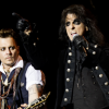 (Joe Perry, absent de la photo) Johnny Depp et Alice Cooper