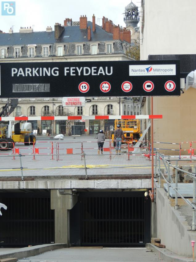 nantes inaugurations du parking feydeau et de la place graslin presse oc an. Black Bedroom Furniture Sets. Home Design Ideas