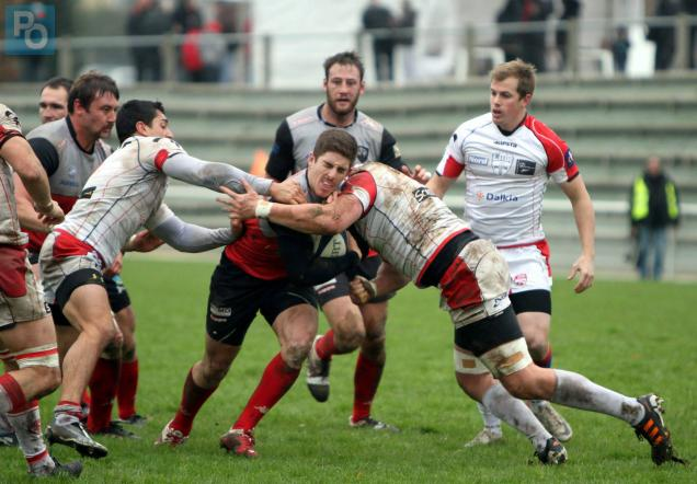 Rugby (Fédérale 1) : le Sporting Nazairien tombe face à Lille