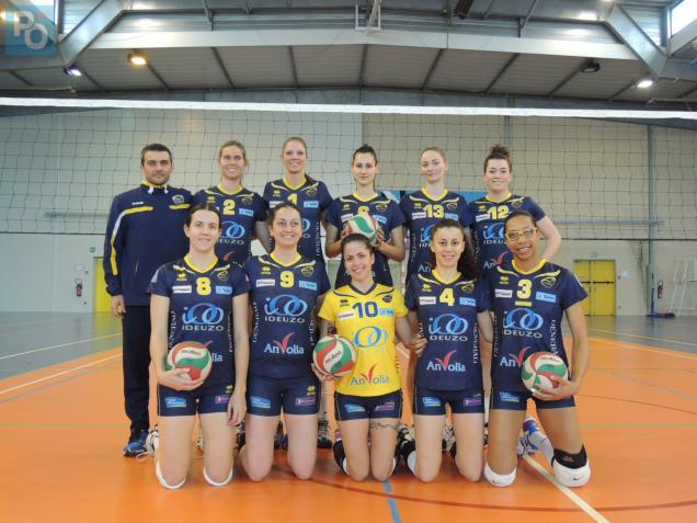 Le VB Nantes disputera un match d'appui samedi soir face à Mulhouse. Photo D. Bo