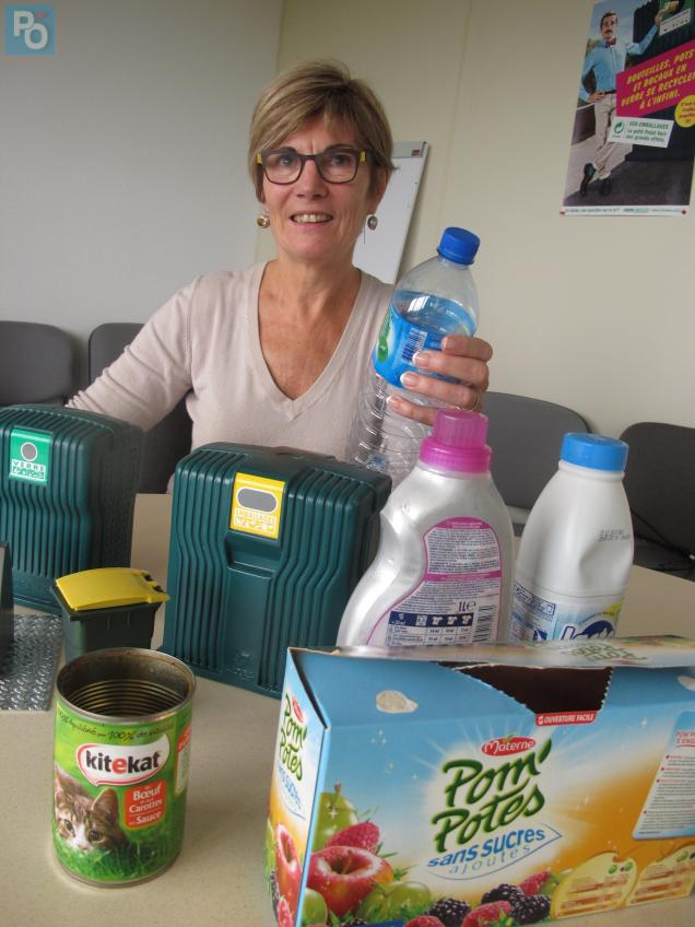 Catherine Le Pober, directrice Grand Ouest d'Eco Emballages.