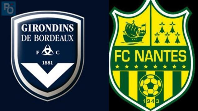Ligue 1. Girondins de Bordeaux 0 - FC Nantes 0, un match à suivre en direct