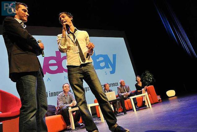 Images du Web2Day 2014. Photo Olivier Lanrivain