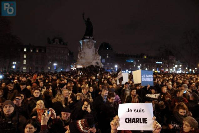 la place de la République sera encore au centre des manifestations du souvenir. Photo archives AFP