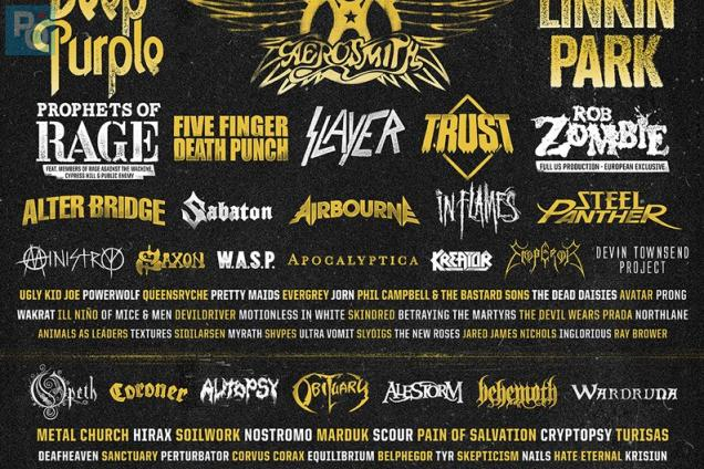 Aerosmith, Deep purple, Trust, Linkin park... au Hellfest 2017