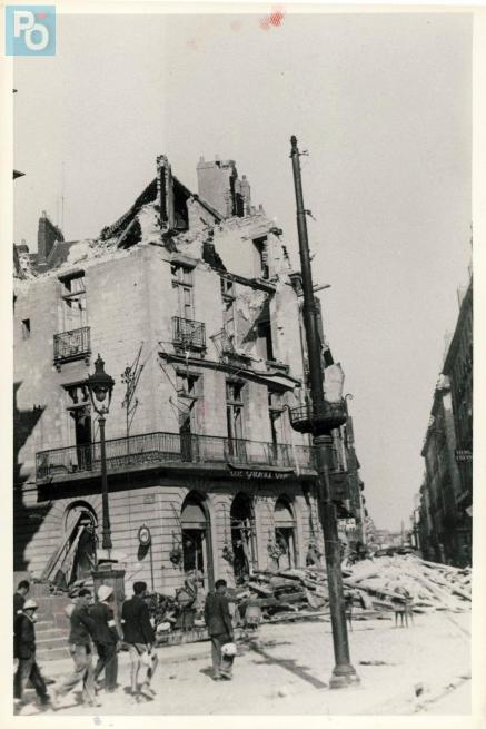 Bombardements de 1943 à Nantes : visionnez nos images d'archives [PHOTOS]