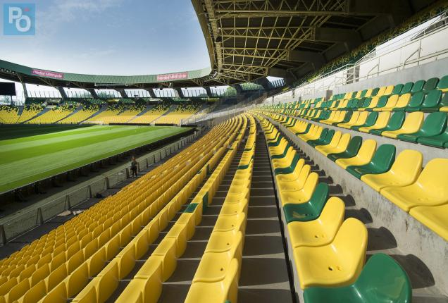 fc nantes le stade de la beaujoire a quasiment termin sa mue presse oc an. Black Bedroom Furniture Sets. Home Design Ideas