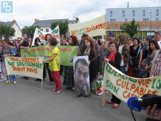 """Samedi matin, 150 personnes se sont rassemblées à Nort-sur-Erdre pour les """"disparus de Bolivie"""""""