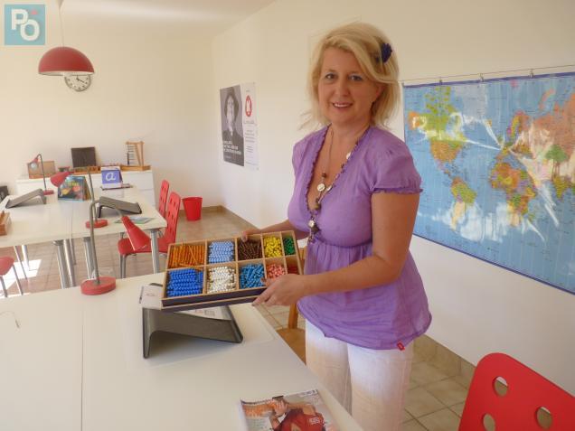 Patricia Abellard souhaite que le collège «La Chrysalide» s'inspire de la pédagogie «Montessori».