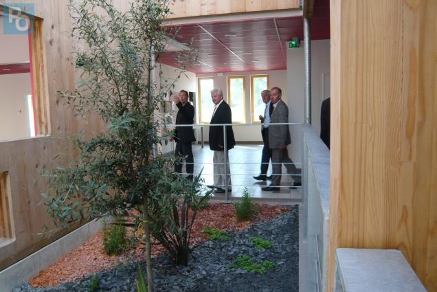 Le nouveau collège d'Héric - sur le territoire d'Erdre et Gesvres - va accueillir 450 élèves.