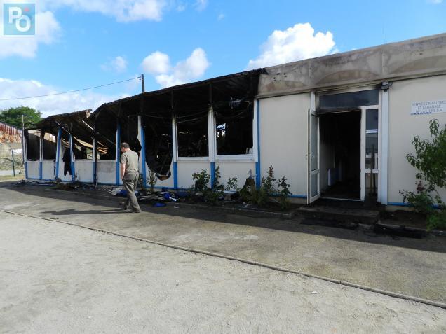 Ce matin, responsables et salariés du site du bas-Chantenay ne pouvaient que constater les dégâts.