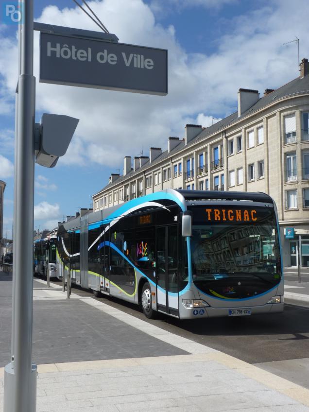 Les habitants de la Carene bénéficieront d'une semaine de transport gratuite.