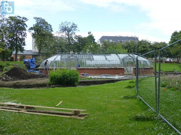 Nantes. Au jardin des Plantes, une nouvelle serre, construite en ...