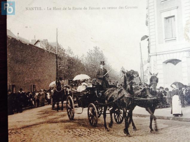 Nantes histoire la route de rennes au d but du 20e si cle presse oc an - La route du meuble rennes ...