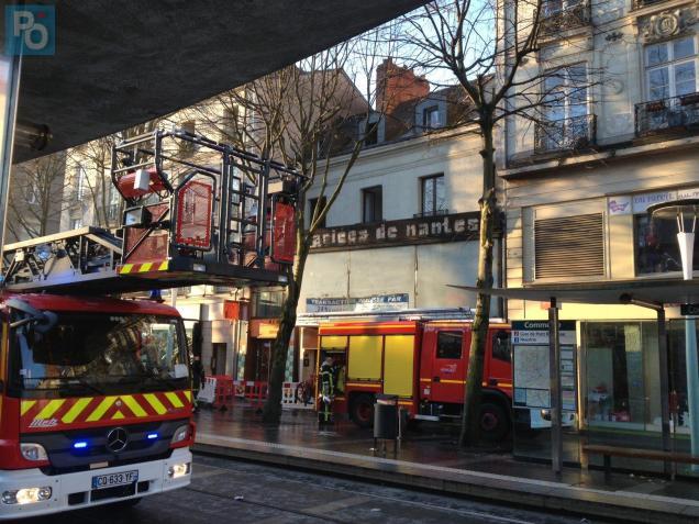 Les sapeurs pompiers étaient en sur place ce matin à 9h30