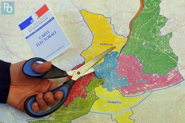 Nantes des cantons redécoupés et de nouveaux bureaux de vote