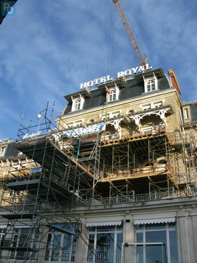 Dix millions d'euros sont nécessaires à la rénovation du palace.