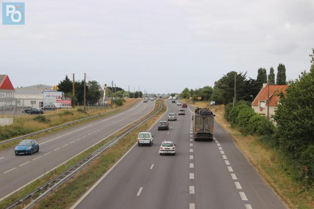 L'accident s'est produit au niveau de la zone industrielle des Noës.