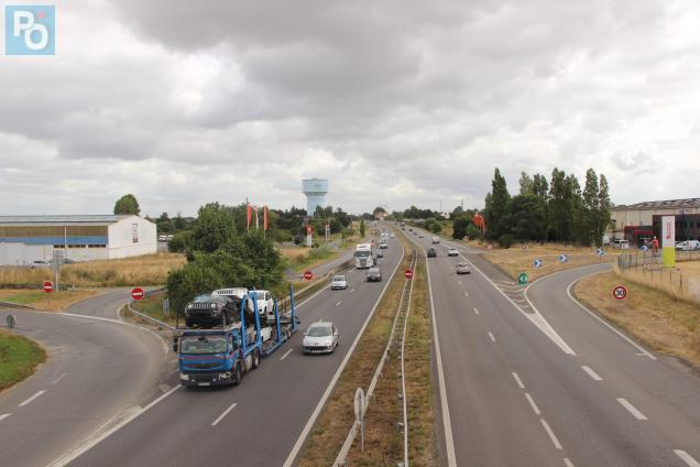 L'accident s'est produit lundi soir sur la RN171.