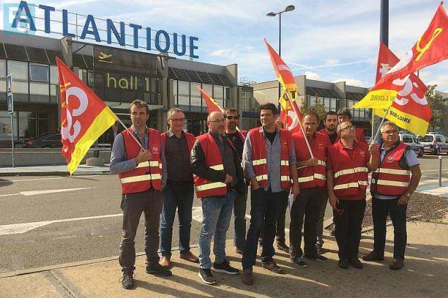 a62398954c9 Les élus de la CGT dénoncent la détérioration du climat social à Nantes  Atlantique.