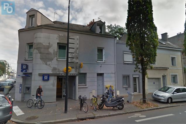 Nantes boulevard schuman le bureau de poste longchamp ferme ce