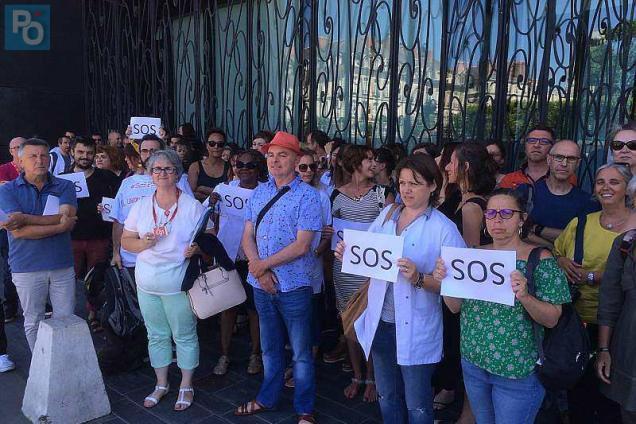 Le 26 juin, les agents des services de psychiatrie du CHU de Nantes ont déjà dénoncé la recrudescence d'agressions.