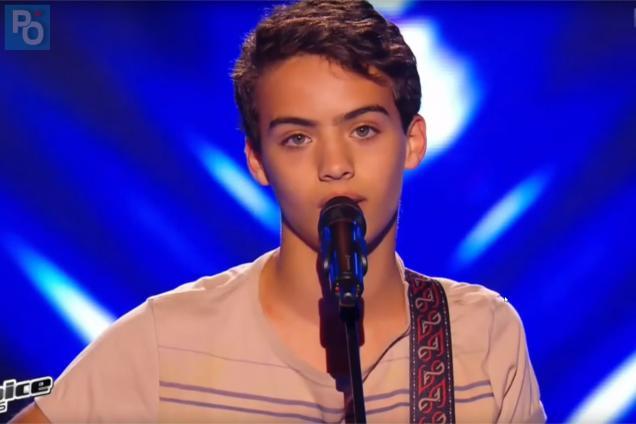 Pornic - 11/10/2018 - Le clip d`un finaliste de The Voice Kids tourné à Préfailles