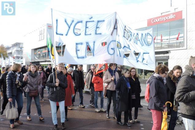 54e8aa93ed5 Saint-Nazaire. Plus de 200 enseignants mobilisés en ce jour de grève ...