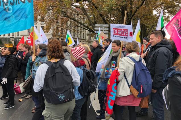 198fefce90e Loire-Atlantique. Éducation nationale   les personnels sont en grève ...