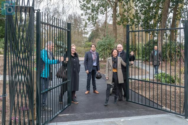 Nantes. Une nouvelle entrée au jardin des plantes | Presse Océan