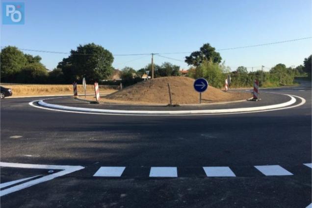 Pornic - 03/07/2019 - Axe Nantes - Pornic : le nouveau giratoire est ouvert