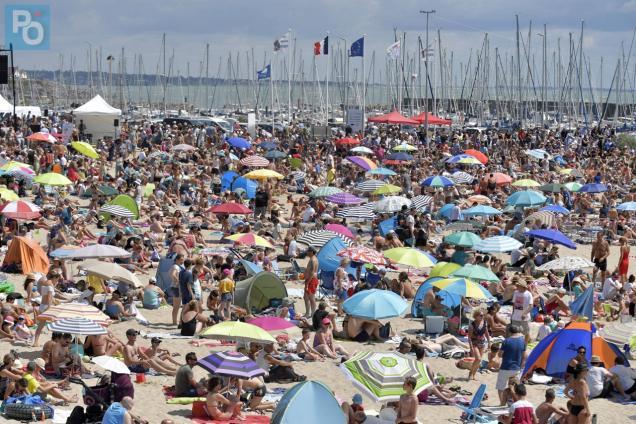 Pornic - 07/08/2019 - Pollution des plages : Pornic n`était pas au courant !
