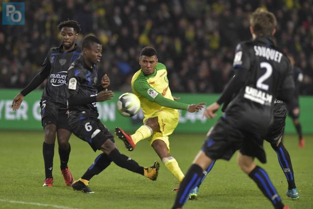 FC Nantes. Officiel : l'attaquant Santy Ngom quitte les Canaris pour Caen (Ligue 2)