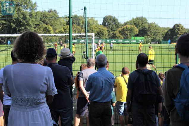FC Nantes. L'entraînement ouvert au public attire à nouveau la foule