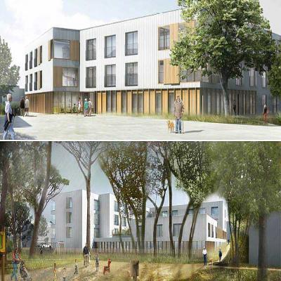 bouguenais future maison de retraite beaulieu le chantier d marre l 39 automne presse oc an. Black Bedroom Furniture Sets. Home Design Ideas