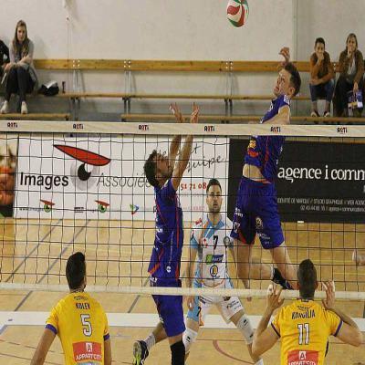 Volley ball coupe de france le nrmv et saint nazaire vba passent en 8es presse oc an - Volley ball coupe de france ...