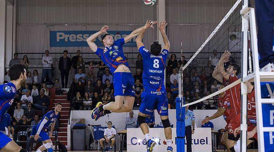 Volley ball coupe de france le nrmv une marche de la finale presse oc an - Volley ball coupe de france ...