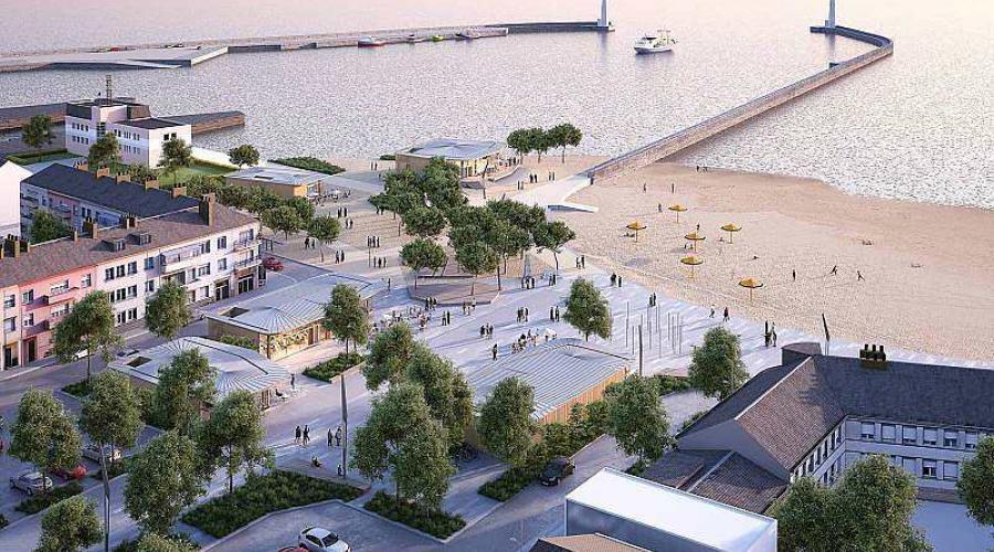 saint nazaire place du commando un bar brasserie la plage ouvert fin mai presse oc an. Black Bedroom Furniture Sets. Home Design Ideas