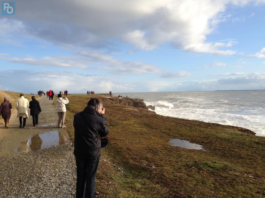 Loire-Atlantique. Des spectateurs pour suivre les grandes marées