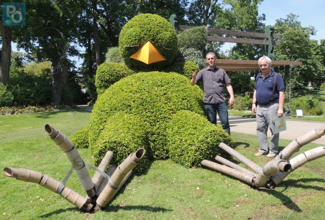 Nantes. Le monde merveilleux de Claude Ponti au Jardin des Plantes ...