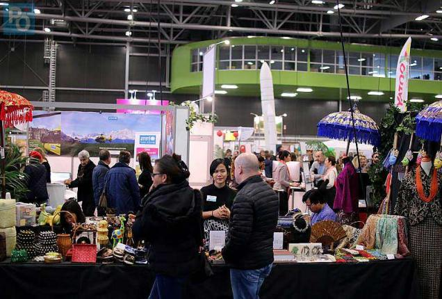 Nantes beaucoup de monde au 19e salon international du tourisme photos presse oc an - Salon international du tourisme rennes ...